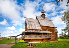 Suzdal. Church of St. Nicholas from the village of Glotovo, Yuri Stock Images