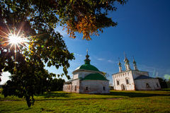 Suzdal churches Stock Photo