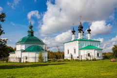 Suzdal. Friday Church and Entry into Jerusalem church Stock Images