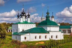 Suzdal. Friday Church and Entry into Jerusalem church Royalty Free Stock Photo