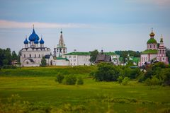 Suzdal Golden ring of Russia royalty free stock photography