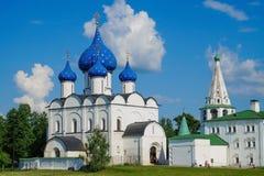 Suzdal het Kremlin royalty-vrije stock foto's