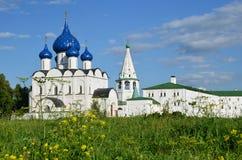 Suzdal het Kremlin Gouden Ring van Rusland Royalty-vrije Stock Foto's