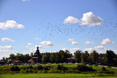 Suzdal. A hot summer day  is in a provincial Suzdal Royalty Free Stock Images