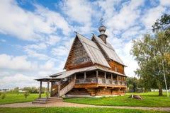 Suzdal Kościół St Nicholas od wioski Glotovo, Yuri Obraz Royalty Free