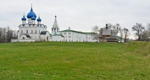 Suzdal Kreml Arkivfoto