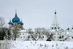 Suzdal. Kremlin. The golden towns of Russia. Suzdal. Kremlin. The Cathedral of the Nativity Stock Photos