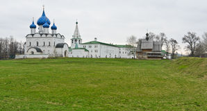 Suzdal Kremlin Stock Photo
