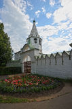 The Suzdal Kremlin with blue domes. Russia Royalty Free Stock Image