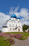 Suzdal Kremlin. Cathedral of the Nativity of the Virgin (XIII-XIX Royalty Free Stock Images