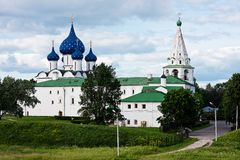 Suzdal Kremlin. Royalty Free Stock Photos
