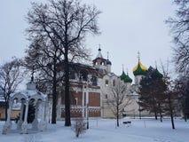 Suzdal Kremlin, Rússia Suzdal é parte do anel dourado de Rússia e de um local do UNESCO Destino famoso do turista antigo imagem de stock