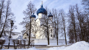 Suzdal Kremlin, Russia (Winter Landscape) Stock Images