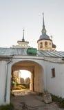 Suzdal Kremlin at sunset Stock Photos