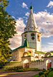 Suzdal Kremlin at sunset, Russia Stock Image