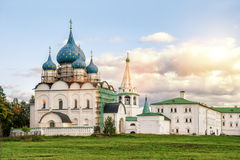 Suzdal Kremlin at sunset, Russia Royalty Free Stock Photography