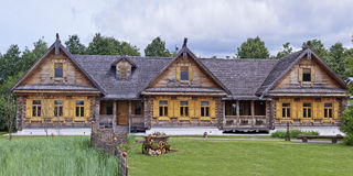 Suzdal' La Russia centrale Hotel del villaggio Fotografia Stock Libera da Diritti