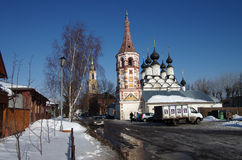 Suzdal. Lazarus Church And Antipievskaya Church Stock Photography