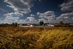 Suzdal monastery. Panorama of Suzdal monastery. Russian Federation Stock Photography