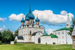 Suzdal. Nativity Cathedral Royalty Free Stock Images