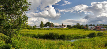 Suzdal panorama Royalty Free Stock Image