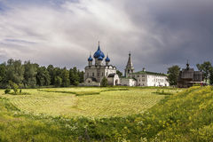 SUZDAL, RÚSSIA, Kremlin de Suzdalian kremlin Fotografia de Stock