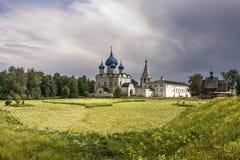SUZDAL, ROSJA, Suzdalian Kremlin kremlin Fotografia Stock