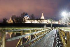 suzdal rosji Narodzenie Jezusa katedra Suzdal Kremlin przy nocą w lecie Obrazy Stock