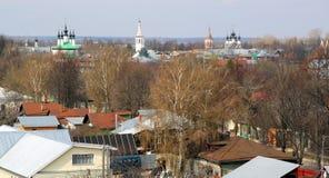Suzdal in Russia Immagini Stock Libere da Diritti