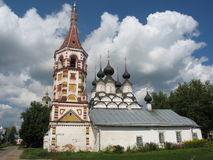 Suzdal, Russia. Famous historic town Suzdal, Russia, old church Royalty Free Stock Image