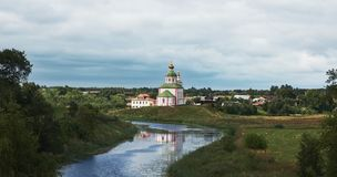 Suzdal, RUSSIA - July 29, 2018: Elias Church Royalty Free Stock Photography