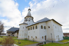 Suzdal, Russia -06.11.2015. Uspensky Refectory Church at Suzdal was built  16th century. Golden Ring of Russia Travel Stock Photography