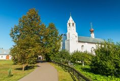 Suzdal, Russia: View of The Zachatyevskaya Church in the famous Russian town stock images