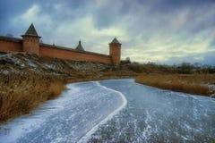 Suzdal Spaso-Efimevskii kloster Royaltyfri Bild