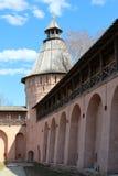 Suzdal. Spaso-efimovsky kloster. Royaltyfri Fotografi