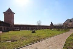 Suzdal. Spaso-efimovsky kloster. Arkivfoton