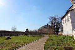Suzdal. Spaso-efimovsky kloster. Arkivbilder