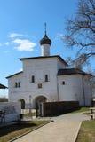 Suzdal. Spaso-efimovsky kloster. Kapell. Royaltyfri Bild