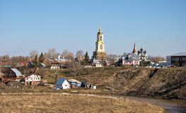 Suzdal. Spring. Royalty Free Stock Photos
