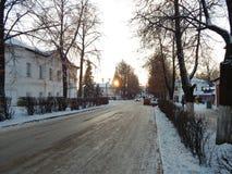 Suzdal-Stadt in Vladimir-Region, Russland Stockbild