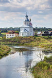 Suzdal. View of the Church of Elijah the Prophet. Russia Royalty Free Stock Photography