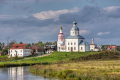 Suzdal. View of the Church of Elijah the Prophet. Russia Stock Images