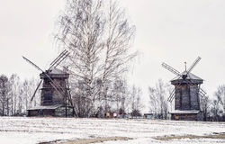 Suzdal woodmil Royalty Free Stock Photo