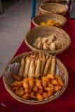 Suzhou πόλεων Luzhi αρχαία τρόφιμα οδών κωμοπόλεων εμπορικά Στοκ φωτογραφίες με δικαίωμα ελεύθερης χρήσης