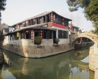 Suzhou bostads- arkitektur i Kina arkivbilder