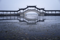 Suzhou Bridge. Outdoor scenery,jingxi old town Royalty Free Stock Photography