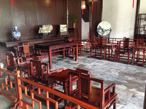 Suzhou, China, famous tourist attractions, Humble Administrator's Garden. Royalty Free Stock Photography