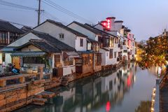Suzhou, Cina Fotografia Stock Libera da Diritti