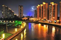 Suzhou Creek in Shanghai Royalty Free Stock Photos