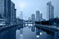 Suzhou Creek, Shanghai Royalty Free Stock Photo